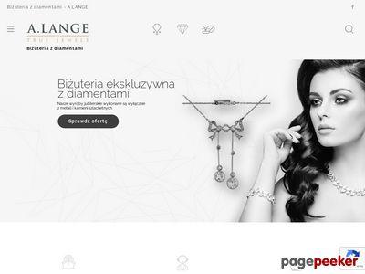 Dawna, droga biżuteria z brylantami - A.Lange