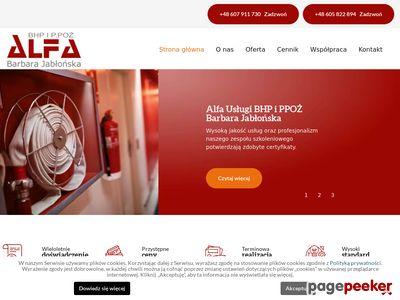 Usługi BHP i szkolenia ppoż Wrocław