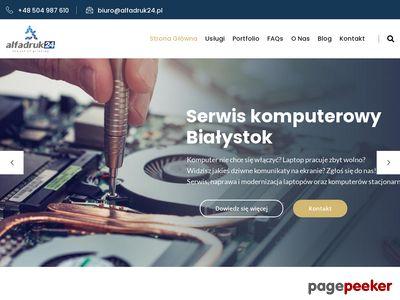 Alfadruk24.pl - drukarnia