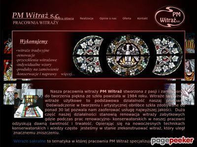 http://amberlamp.pl witraże sakralne