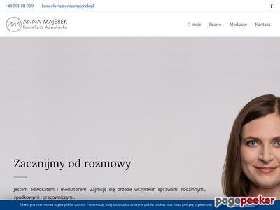 Annamajerek.pl adwokat w Warszawie