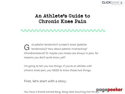 An Athlete's Guide to Chronic Knee Pain – AИTHONY MYCHAL