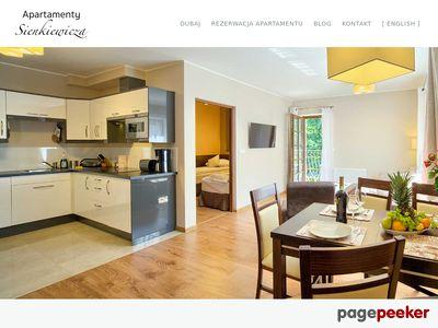 Relaks w Apartamentach Sienkiewicza w Zakopanem