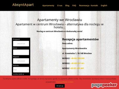 Apartamentywroclawskie24.pl