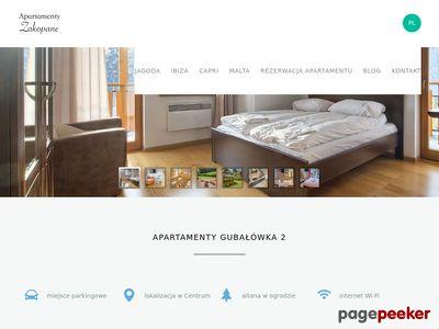 Zobacz www.apartamentyzakopane.info