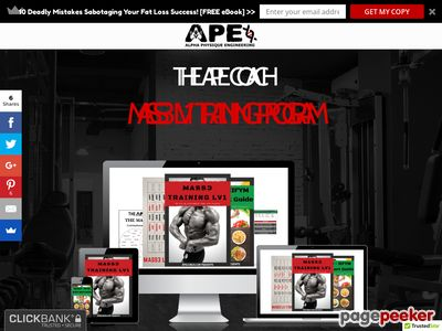 MASS3 LV1 Training - Alpha Physique Engineering - APEcoach.com