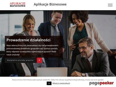 Aplikacje Biznesowe