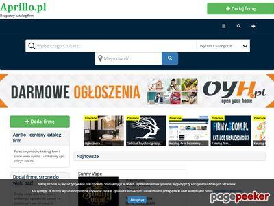 Aprillo.pl - spis stron
