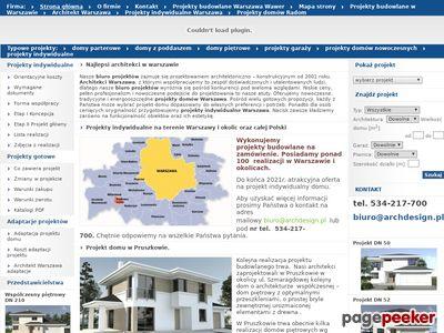 ArchDesign.pl Architekti Warszawa
