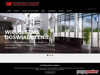 Biuro architektoniczne - architekt-wlodarczyk.pl