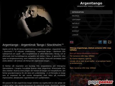 Argentango - Argentinsk Tango i Stockholm™ - http://argentango.se