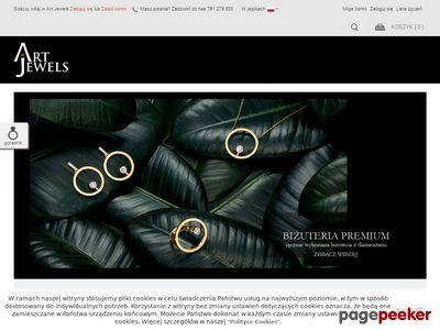 Sklep z biżuterią autorską - biżuteria srebrna i złota