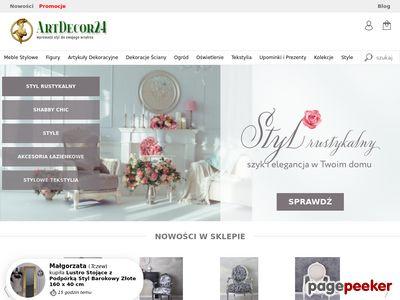 ArtDecor International - stylowe artykuły dekoracyjne, upominki meble