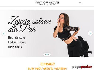 Szkoła Tańca Poznań Art of Move. Nauka tańca, kurs tańca