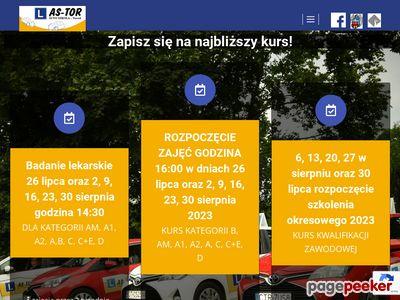 Kurs na prawo jazdy - AS-TOR Toruń