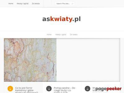 AS-ZNICZ sztuczne rosliny Wrocław