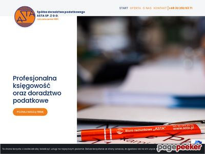 ASTA Doradca podatkowy dąbrowa górnicza