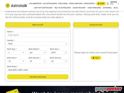 Read more about: http://astrotalk.com/freekundli