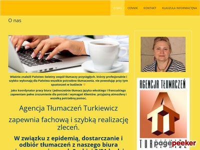 Agencja Tłumaczeń Turkiewicz