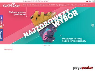 Polski producent obuwia dla dzieci - Aurelka