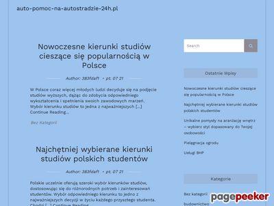 Pomoc Drogowa A1, A2