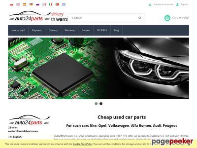 Części używane do samochodów Auto24parts