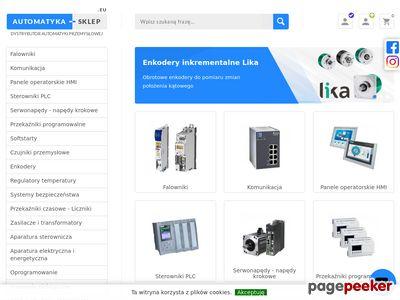 PLC - Falowniki - Automatyka Przemysłowa - Sklep internetowy
