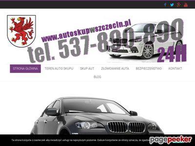 Złomowanie aut Szczecin - autoskupwszczecin.pl