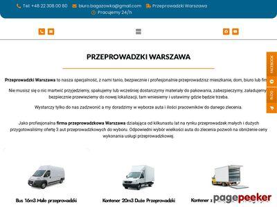 Tanie taxi bagażowe Warszawa