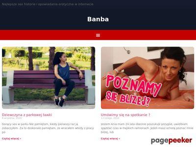 Banba.pl - rozpalające Opowiadania +18