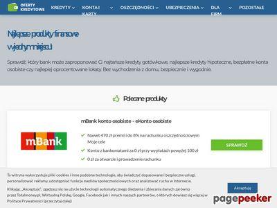 Porównywarka kredytów i pożyczek Banki24.pl