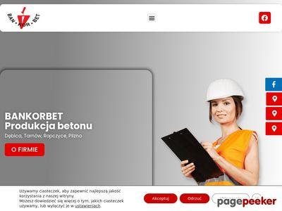 Ban-Kor-Bet - produkcja betonu Tarnów