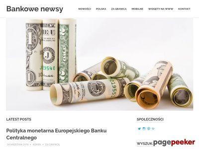 Blog o bankach