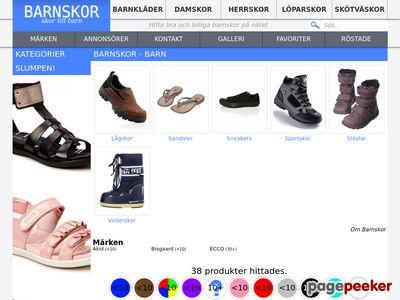 Barnskor Online | Här finns det barnskor på nätet - http://barnskorpanatet.se