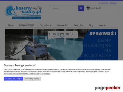 Chemia do basenu - akcesoria do sauny