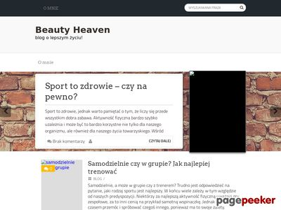 Blog o fitness - Beauty-heaven