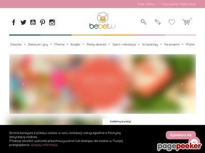 Bebetu.pl- zabawki dla dzieci