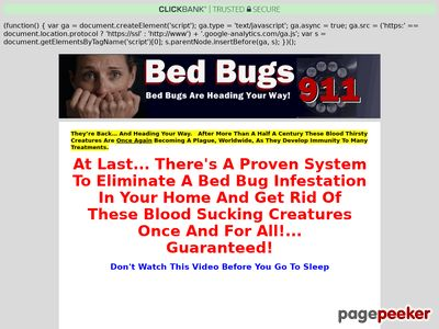 Eliminate Bed Bugs – Bed Bugs 911