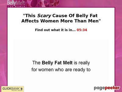 Belly Melt For Women