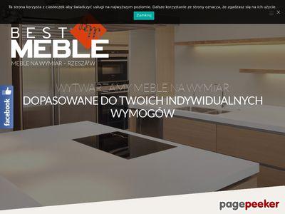 Best Meble - meble kuchenne Rzeszów, na wymiar