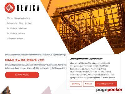 Bewika - usługi budowlane Łódź