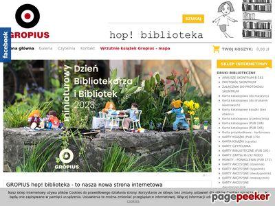 Gropius Hop! - karty katalogowe