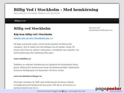 Billig ved Stockholm - http://billigvedstockholm.n.nu