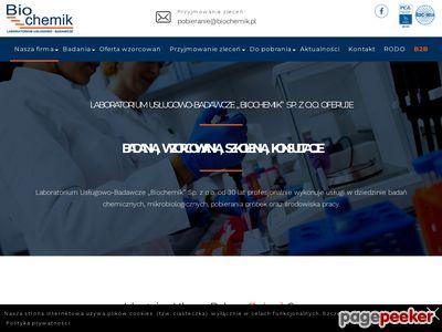 Http://biochemik.pl - badanie ścieków