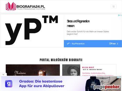 Biografie sławnych ludzi na Biografia24.pl