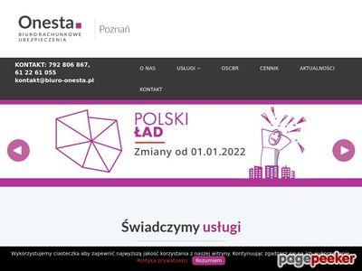 Biuro rachunkowe Poznań - biuro-onesta.pl