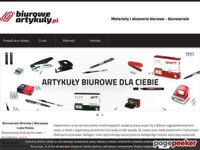 Biuroserwis Warszawa - biuroweartykuly.pl