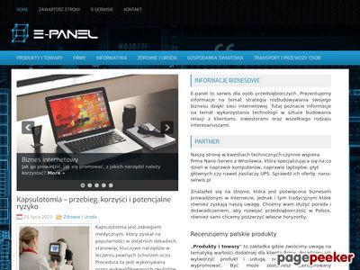 Biznes e-panel - Twój Biznesowy Panel