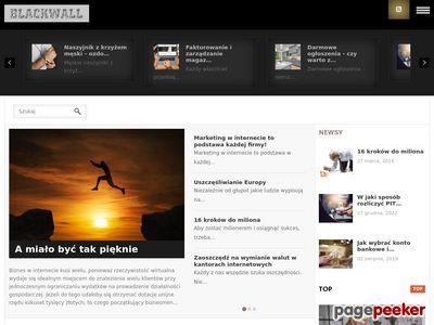 Blackwall blog niewygodne informacje