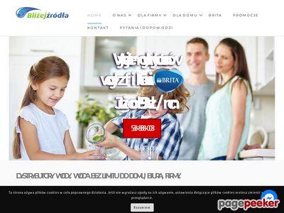 Dystrybutory wód - Blizejzrodla.pl